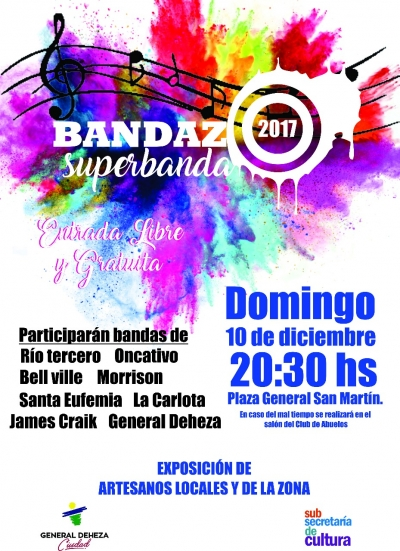 bandazo 2.017. Superbanda.